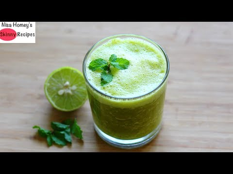 Refreshing Drink For Iftar - Ready In 2 Mins - Iftar - Ramadan Recipes - Skinny Recipes