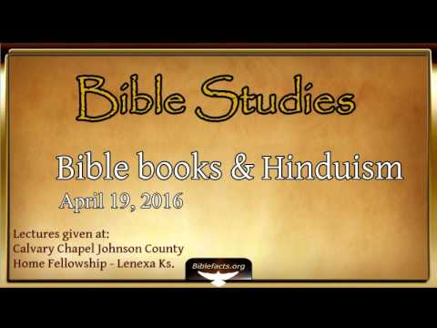 Bible Books (pt. 2) and prophecy according to Hinduism