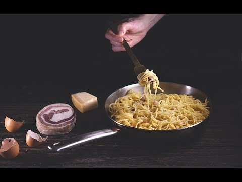 Spaghetti Carbonara The Traditional Way