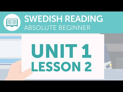 Swedish Reading Practice for Absolute Beginners - Reading Your Train Ticket