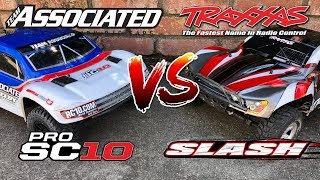 Team Associated ProSC10 race setup tips (Trophy Rat, Reflex