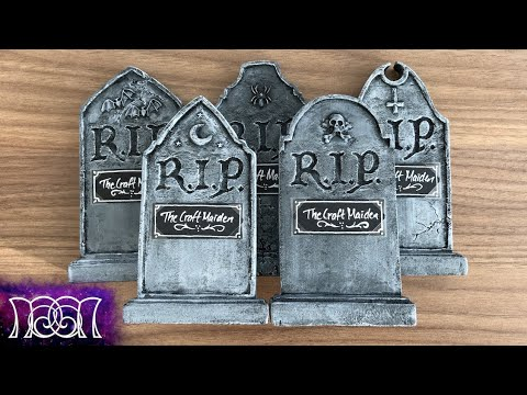 Halloween Seating Cards - Mini Gravestones