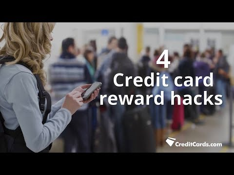 Credit card reward hacks
