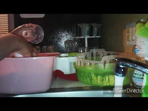 Playtex Feeding System Part 1: Wash & Sterilize