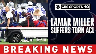 Texans reportedly fear torn ACL for Lamar Miller after nasty hit vs. Cowboys   CBS Sports HQ