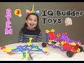IQ Builder Educational STEM Toy | Building a Dragonfly + Car with Paw Patrol Cathleen's Toy Reviews