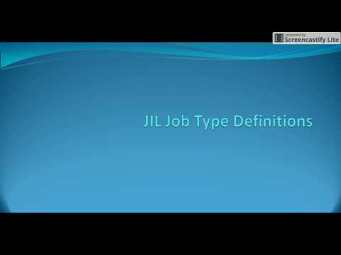Autosys : JIL Job Type Definitions, How to create user defined job type