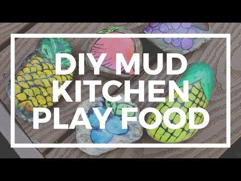 DIY Mud Kitchen Play Food | Kaplan Early Learning Company