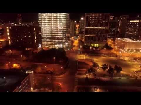 April 18, 2018 Vlog #99 Richmond Va Drone Flight at night