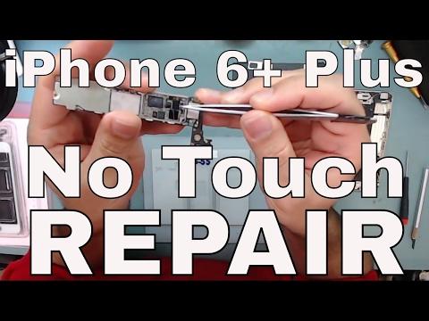 iPhone 6+ Plus Touch Disease FIX Unresponsive Screen Defect Jumper Gray Bar Ghosting Repair 343S0694
