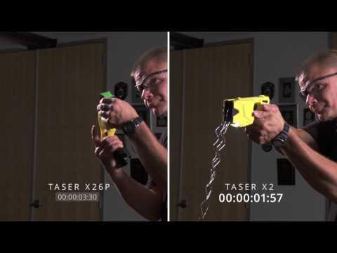 TASER Smart Weapons  Reload Speed Comparison Original HD