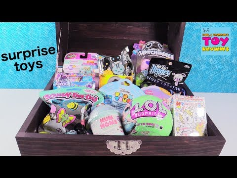 Blind Bag Treasure Chest LOL Surprise Doll Disney Coco Hatchimals Toy   PSToyReviews
