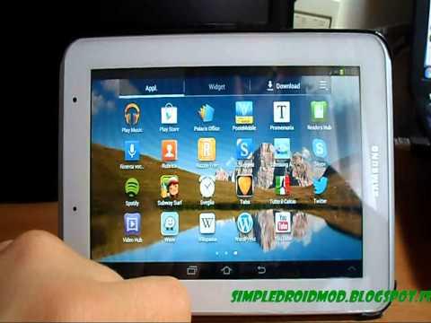Samsung Galaxy Tab 2 7.0: aggiornamento ad Android 4.1.2