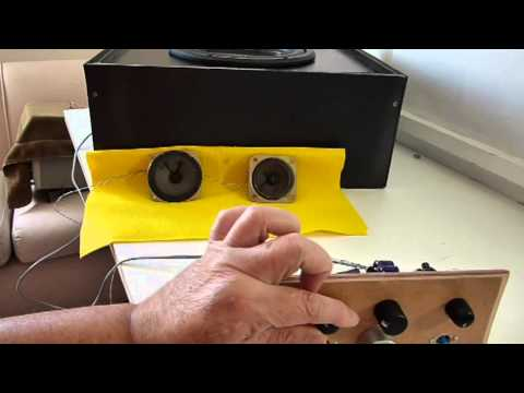 How to make speaker crossover 2 - Schematic and adjust.