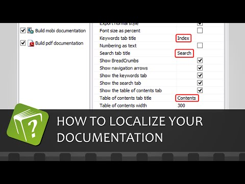 How to localize your documentation output (Step-by-step guide)