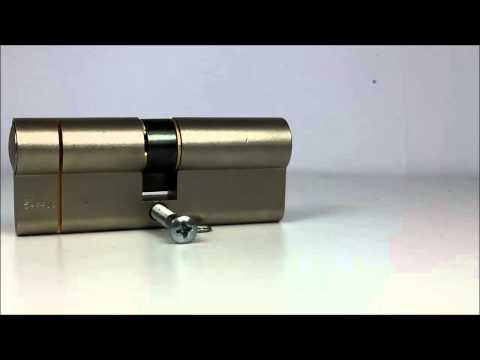 ISEO F6 Extra S Key & Key - Anti Snap Euro Cylinder