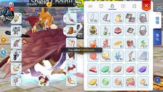 Ragnarok Mobile: Rune Knight WOE gameplay