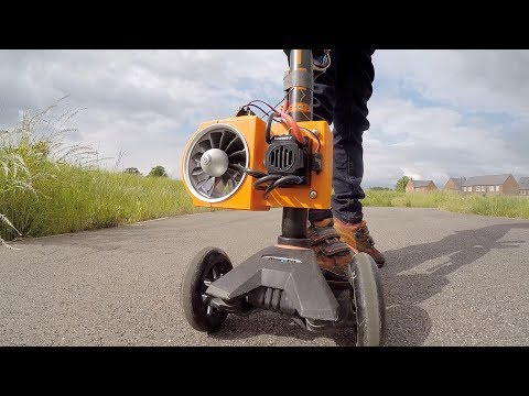 Jet Powered Kids Scooter
