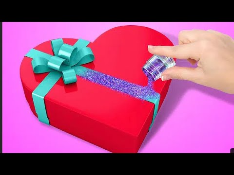 Diy/gift packing | packing ideas | gift wrapping at home |wrapping paper | gift box