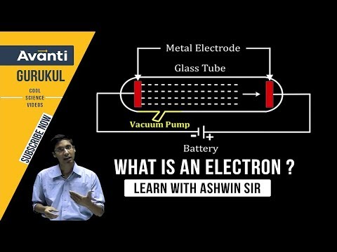 What is an Electron | Charge on Electron & Dalton's Atomic Theory - Cathode Ray Discharge Tube I