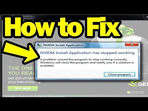 Fix Nvidia Driver Install Failure