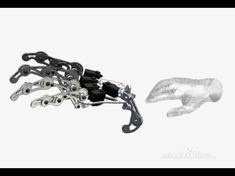 Animatronic Robotic hand development process