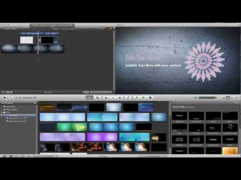 How to add Effects using iMovie 11  |  Using Pre-Keyed Effects and Animations within iMovie