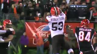 Browns vs. Bengals   Week 9 Highlights   NFL