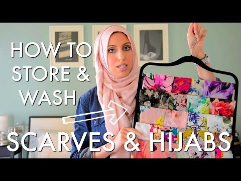 Quick & Easy - How to Organize, Store & Care for your Scarves - Haute Hijab