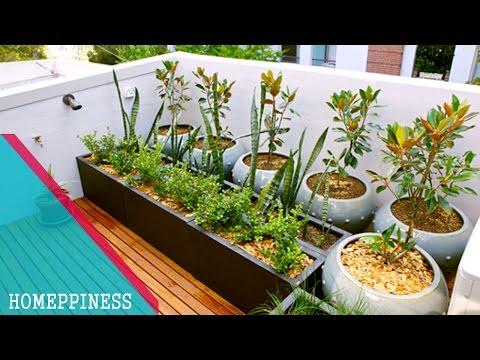 SIMPLE & EASY TO MAKE!!! 30+ Small Apartment Balcony Garden Ideas