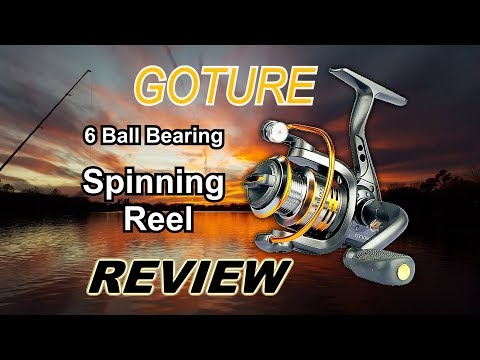REVIEW: Goture GT1000V Series Spinning Reel.  Real Life Testing. HUGE Fish caught!