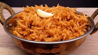 रेस्टोरेंट जैसा गार्लिक शेजवान राइस घर पर बनायें Garlic Schezwan Rice Recipe