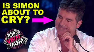 WATCH SIMON COWELL BREAKDOWN During Audition! The Other Judges Can't Believe It!