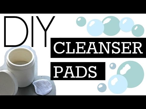DIY Toning Acne Cleanser Wipes (Reusable, Natural, Vegan) for Face and Body