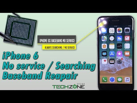 iPhone 6 Baseband No Service / Searching Error iTunes Restore (-1) Repair