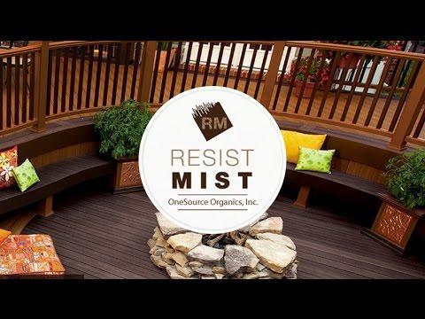 Resist Mist Composite Deck Cleaner and Sealer