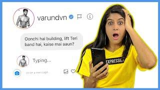 DM'ing 100 Bollywood Celebrities / Celebs on Instagram to see who replies *it worked* 😱 Rickshawali