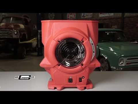 Mr  Gasket 900 CFM Air Mover Blower Fan 33230G Home Shop Garage Trailer Drying