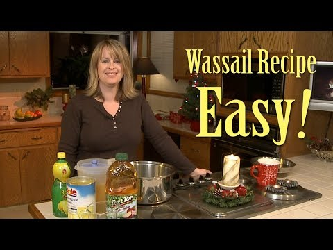 How to Make Fireside Wassail. An Easy Non-Alcholic Christmas Punch Recipe