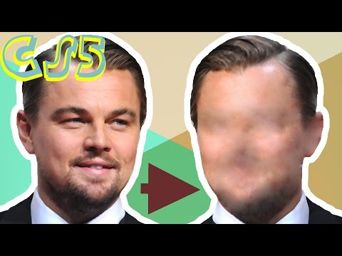 Removing Facial Features || Photoshop CS5 Tutorial || ElixZilla
