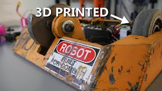 3D Print Durability in Robot Combat (the Chronicles of Vanguard)