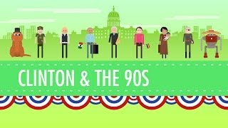 Download The Clinton Years, or the 1990s: Crash Course US History #45 Video
