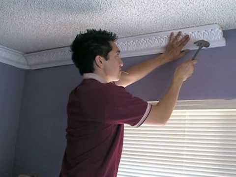 Crown Molding Installation - Hammer and Nails - Part 2