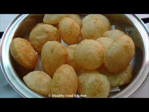 Puri for Pani Puri Recipe-How to make Golgappa Puri Recipe - Evening Snacks Recipe