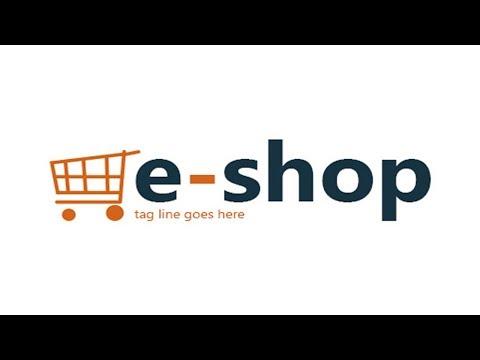 Logo Design for A Online shop or eCommerce Business || Photoshop CC Logo Design Tutorial