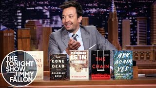 Jimmy Announces Tonight Show Summer Reads 2019