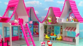 HELLO KITTY DOLLHOUSE NEW Toys Review | itsplaytime612 Toys Review includes dolls, playsets, building blocks or construction toys, modeling clay such as Playdoh, Cra-Z-Art and many more!  Most toys here are based on the children