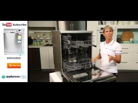 Dishlex Dishwasher DSF6205X reviewed by expert - Appliances Online