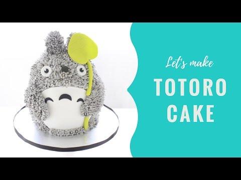 Let's make TOTORO cake!