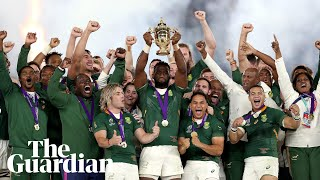 Rugby World Cup: South Africa crowned champions as England fall short